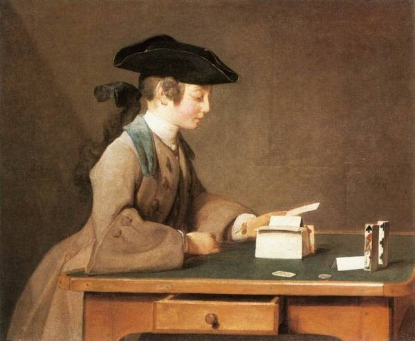 Chardin The House of Cards
